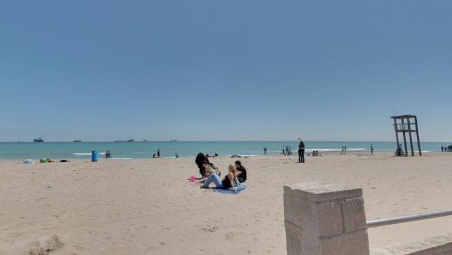 La Playa de El Saler (Valencia) en una imagen de archivo.