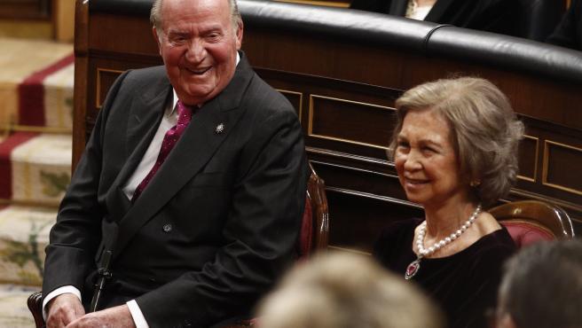 El Rey Don Juan Carlos I y la Reina Sofía