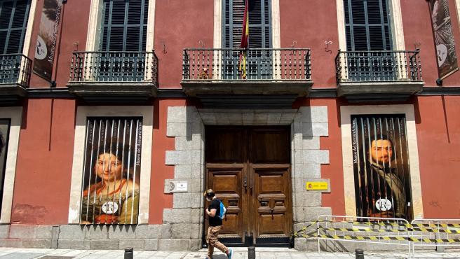 Fachada del Museo Nacional del Romanticismo. En Madrid, (España), a 4 de junio de 2020.