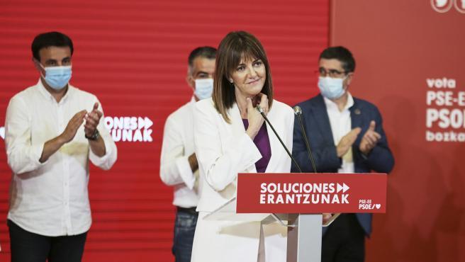 Idoia Mendia, candidata del PSE a la presidencia del País Vasco