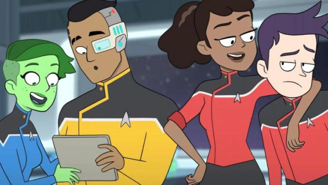La última frontera se vuelve animada en el tráiler de 'Star Trek: Lower Decks'