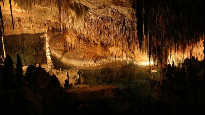 Cuevas del Drach, en Mallorca, situadas en Porto Cristo, en el término municipal de Manacor.