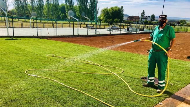 El día 20 se abrirán las instalaciones deportiva de El Mazo, en Haro.