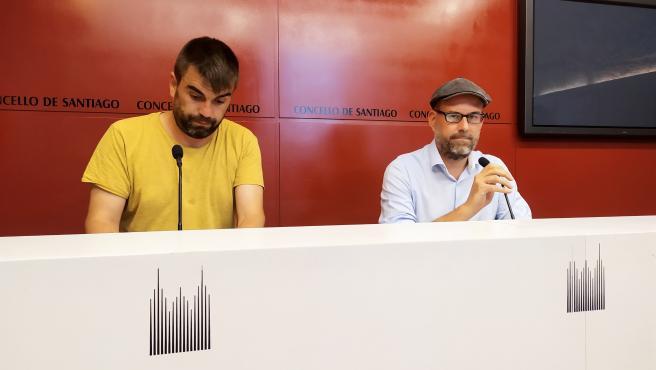 El exalcalde de Santiago Martiño Noriega y el exedil Rafael Peña anuncian su adiós al Ayuntamiento de Santiago