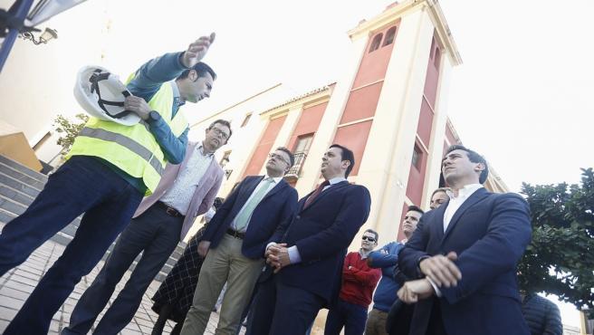 El presidente de la Diputación en un encuentro con el alcalde de Berja