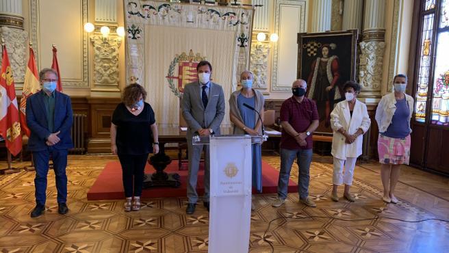 Firma de la III Estrategia de Empleo y Política Social en el Ayuntamiento de Valladolid.