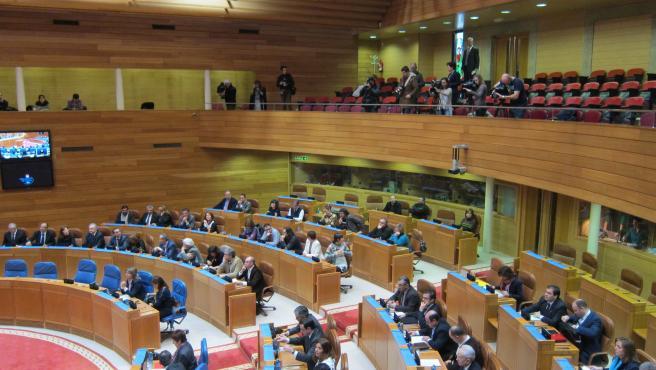 Hemiciclo gallego, Parlamento de Galicia