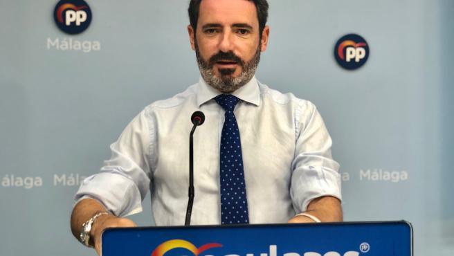 José Ramón Carmona, portavoz del PP de Málaga