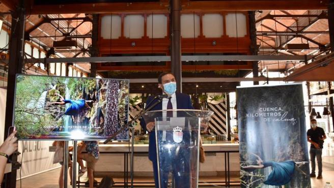 Presentación en Madrid de la campaña 'Cuenca, kilómetros de calma'.