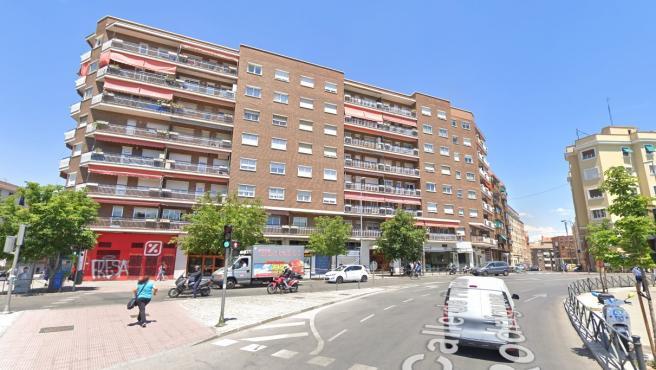 Captura de Google Maps de la calle Francos Rodríguez, en Madrid.