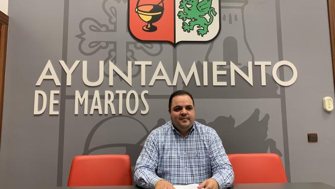 El alcalde de Martos, Víctor Torres/Archivo