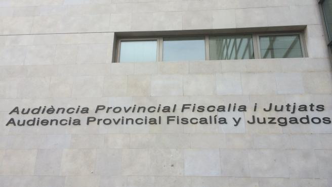 Façana Ciutat de la Justícia de València