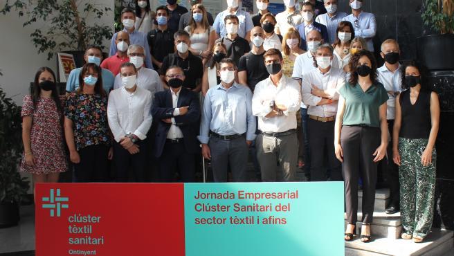 Jornada de presentación a empresas del Clúster Textil Sanitario de Ontinyent