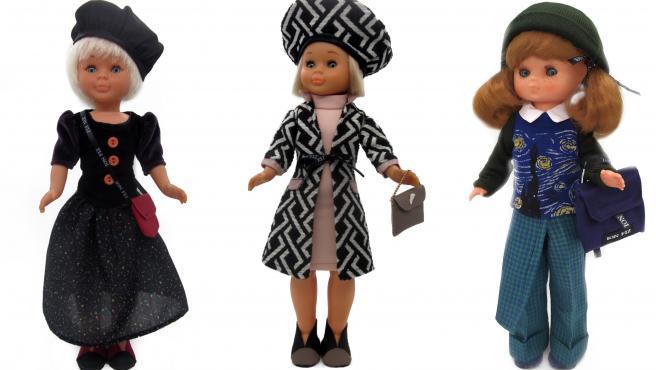 Modelos para la Nancy diseñados por Ion Fiz.