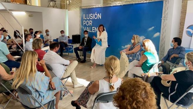 Primer comité ejecutivo del PP de València con María José Catalá como presidenta