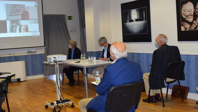 Reunión semipresencial del Patronato de la Fundación Santa María la Real.