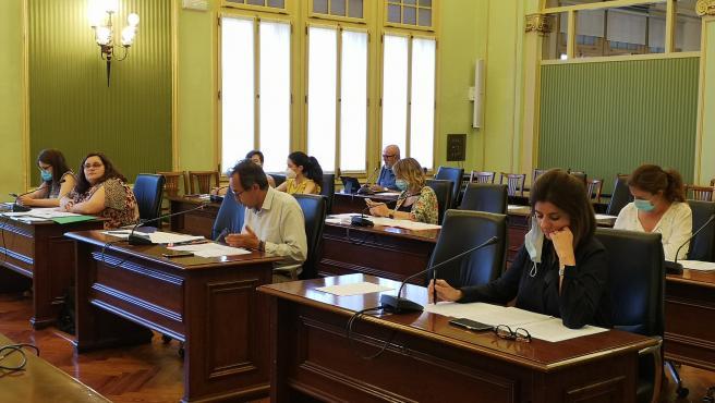 Sesión de la Comisión de Salud en el Parlament.