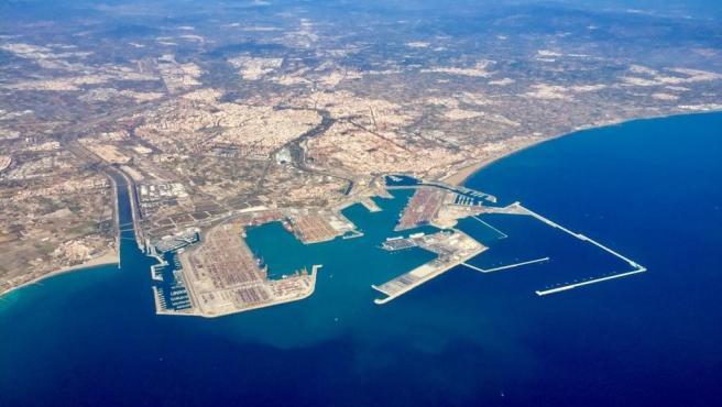 Vista aèria del Port de València