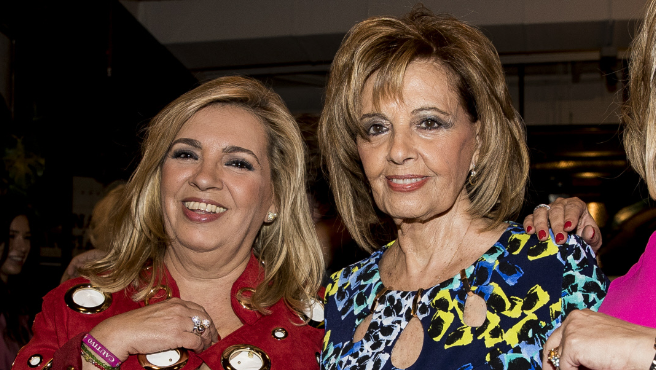 Carmen Borrego y María Teresa Campos.