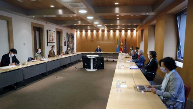 Consejo de Gobierno del Principado.