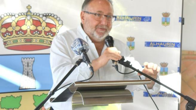 El vicepresidente primero de la Federación Andaluza de Municipios y Provincias (FAMP) y alcalde de Alhaurín de la Torre (Málaga), Joaquín Villanova (PP).