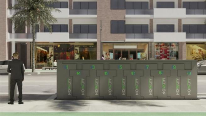 Novatecnic lanza al mercado la patente Novality, un estacionamiento subterráneo para bicis y patinetes