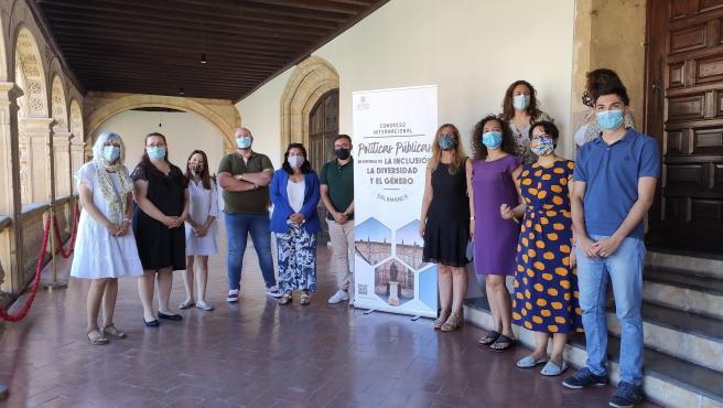 Organizadores del Congreso de Salamanca.