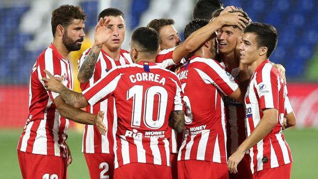 El Atlético gana en Getafe