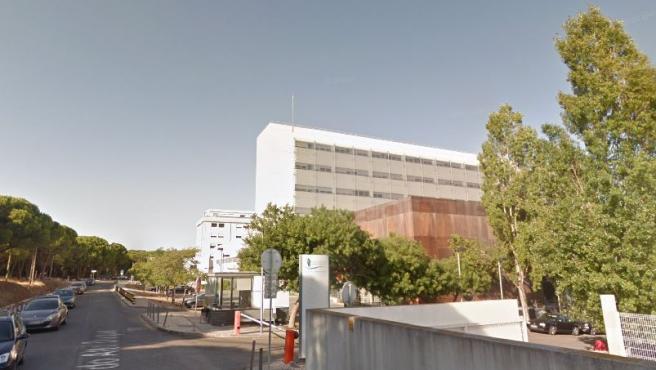 Imagen del hospital San Francisco Xavier de Lisboa.