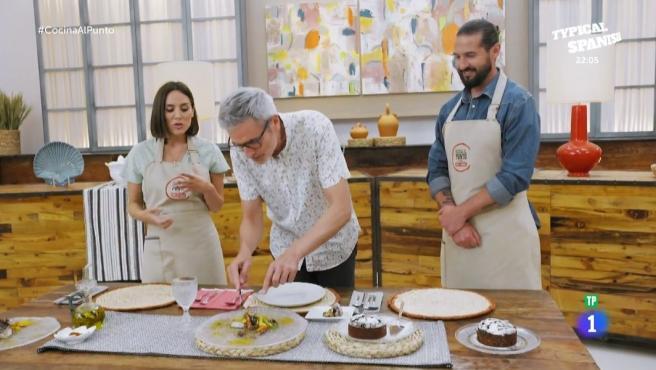 El periodista Mikel López Iturriaga, experto en cocina, en 'Cocina al punto'.
