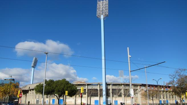 Estadio de La Romareda, campo del Real Zaragoza