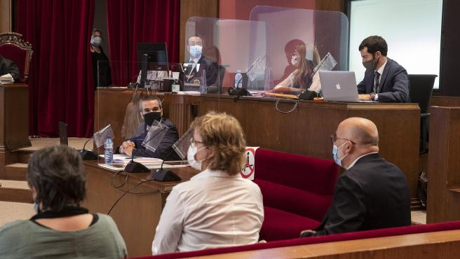 21.07.2020, Barcelona Judici a la Mesa del Parlament de l'octubre 2017 al TSJC. foto: ACN/Jordi Play