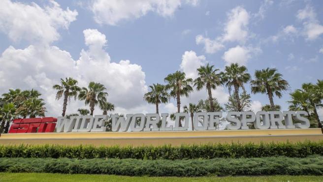 """El complejo ESPN Wide World, en Kissimmee, Florida (EE UU), donde se ha establecido la """"burbuja"""" en la que se retomará la competición de la NBA por la pandemia del coronavirus."""