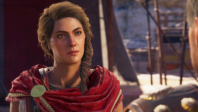 Kassandra, una de las protagonistas de 'Assassin's Creed Odyssey'.