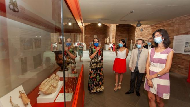 Inaguración de la exposición 'Artes Romae' en el Museo Nacional de Arte Romano de Mérida