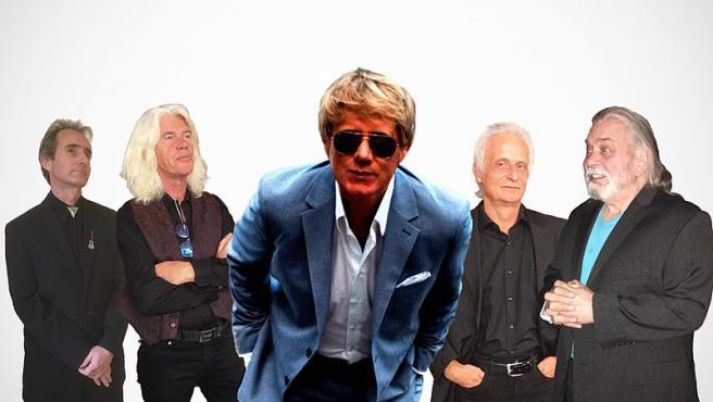 Bandpicture de la banda WORLD5 (rock contemporáneo). Foto: Raimundb. Wikimedia Commons