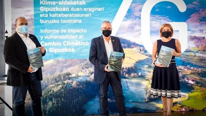 Presentación del Informe de Impacto y Vulnerabilidad al Cambio Climático de Gipuzkoa