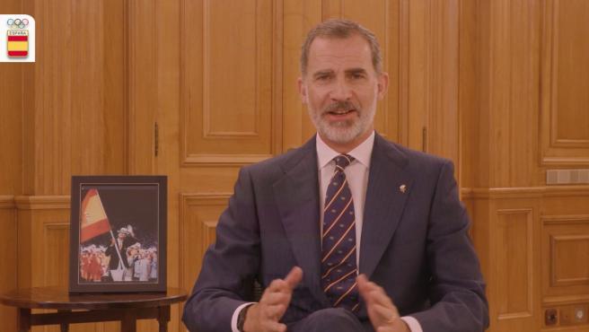 S.M. el Rey Don Felipe VI, en el vídeo para el Comité Olímpico Español