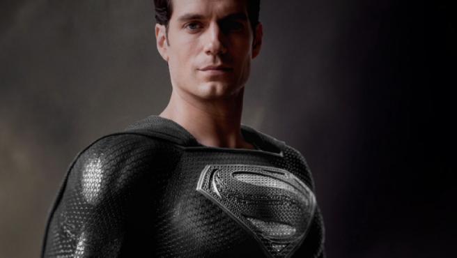 'Liga de la Justicia': Primer vistazo a Superman con el traje negro en 'Snyder Cut'