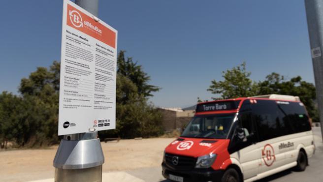 Bus a demanda de Torre Baró.