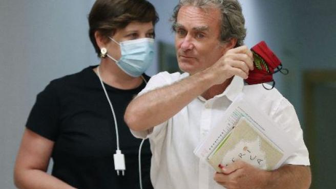 Fernando Simón analiza la evolución de la pandemia durante una rueda de prensa