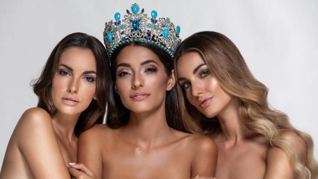Las 3 finalistas de Miss España 2020.