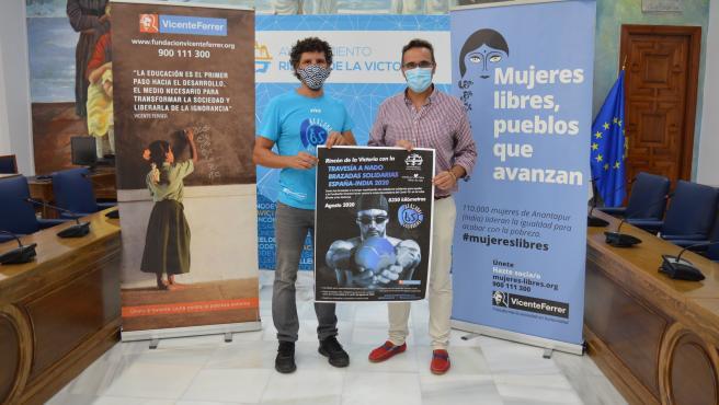 Presentación de la 'Travesía Brazadas Solidarias España-India 2020'
