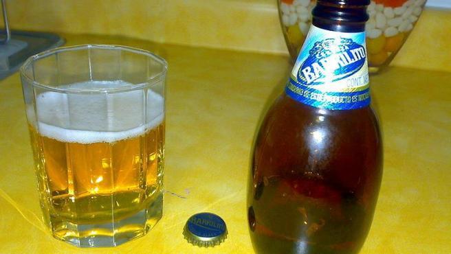 Imagen de la cerveza mexicana Barrilito.