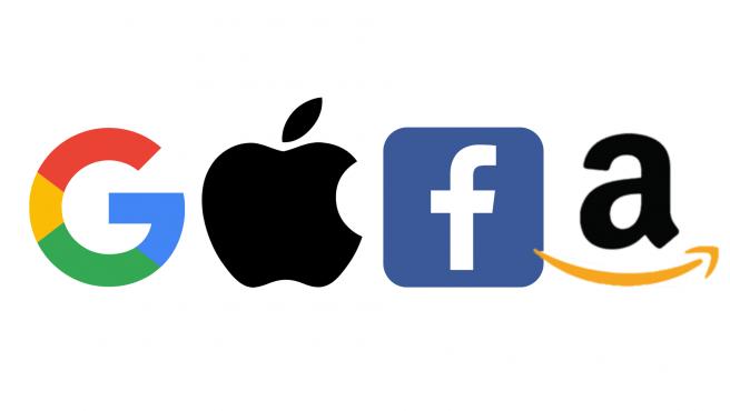 Google, Apple, Facebook y Amazon son popularmente conocidos como los 'GAFA'.