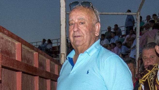 Humberto Janeiro durante un festejo taurino en Prado del Rey, en Cádiz.