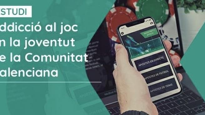 Una investigación del Consell Valencià de la Joventut (CVJ) y la Universitat de València (UV) alerta de que dos de cada tres jóvenes que apuestan tienen un problema real de adicción