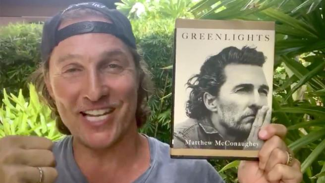 Matthew McConaughey te presenta sus memorias