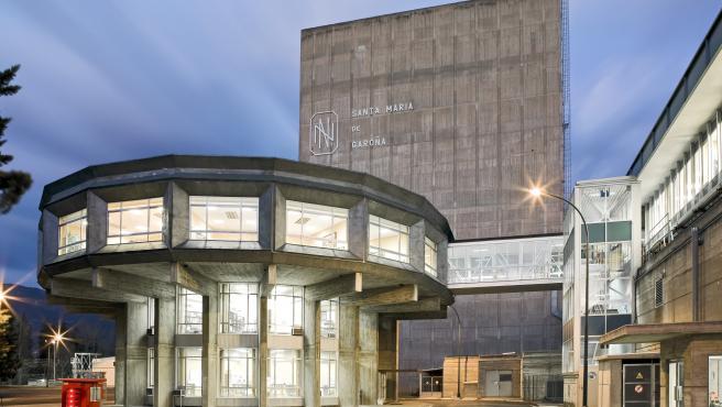 Central nuclear de Santa María de Garoña.