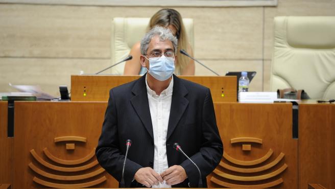 El diputado de Unidas por Extremadura en la Asamblea Joaquín Macías